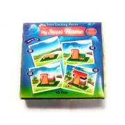 eNetworklink Kinder Blocks Junior My Sweet Home Colorful Interlocking Blocks for Kids