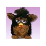 "Furby Model 70 800 ""Gorilla"" Black + Brown Electronic Furbie"