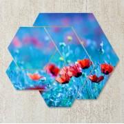 Tablou maci rosii multicanvas - Sensibilitate