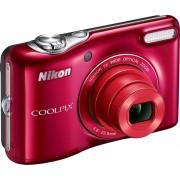 """Camara Digital Nikon COOLPIX L32, 5x, 3"""" -Rojo"""