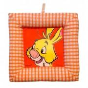 Tablou textil pentru perete Disney Iepure, carouri portocaliu
