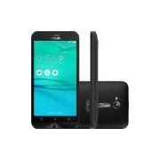 Smartphone Asus Zenfone Go Lte Dual Chip Android 6.0 Tela 5 16GB 4G Wi-Fi Câmera 13MP - Preto