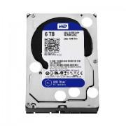 """HDD WD 6TB, Desktop Blue, WD60EZRZ, 3.5"""", SATA3, 5400RPM, 64MB, 24mj"""