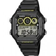 Casio Náramkové hodinky Casio AE-1300WH-1AVEF, (d x š x v) 45 x 42.1 x 12.5 mm, černá