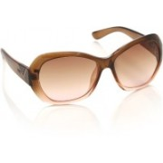 Opium Over-sized Sunglasses(Brown)