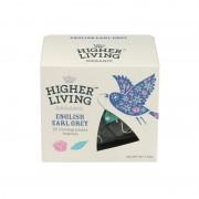Ceai premium ENGLISH EARL GREY eco, 20 plicuri, Higher Living