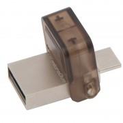 USB DRIVE, 32GB, KINGSTON Data Traveler DUO, OTG, USB2.0, Gold (DTDUO/32GB)