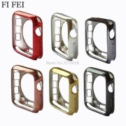 FI FEI Soft TPU Case For Apple Watch Case 38mm 42mm 42 mm Series 3 2 1 Protective Replacements Cover Case Perfect Match Bumper