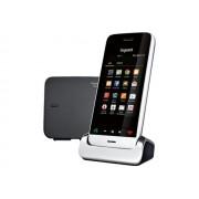 Gigaset SL930A - Téléphone sans fil - système de répondeur - lecteur numérique avec ID d'appelant - DECTGAP / IEEE 802.11b/g/n (Wi-Fi) - noir