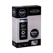Nivea Men Active Clean confezione regalo doccia gel 250 ml + crema universale Men Creme 75 ml uomo