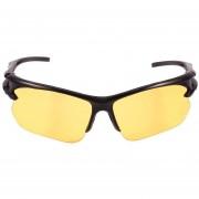 Gafas De Ciclismo Cuadradas Casuales Unisex -Amarillo