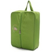 PackNBuy Multifunctional Bag With Partition For Shoes Towels Socks Cosmetics Baby Kit - Green Color(Green)