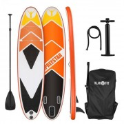 KLARFIT Spreestar 325 Set tabla hinchable para surf de remo Tabla SUP 325 x 15 x 86 Naranja (FITN2-Spreestar 325)