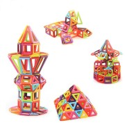 145PCS Magnetic Tiles Magnetic Toys Building Blocks Toys For Kids