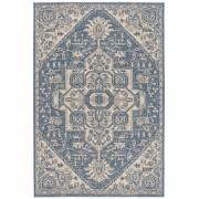 Covor Oriental & Clasic Revere, Bej/Albastru, 90x150