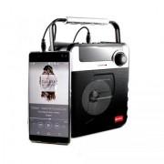 P35 Wireless Digital Multimedia Bluetooth Speaker w/ FM TF Card Function Black