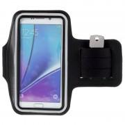 Samsung Galaxy S6 Edge+, Galaxy S7 Edge Sport Gym Armband - Black