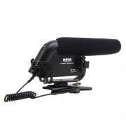 BOYA BY-VM190 Microfon Shotgun Pro Stereo Video DSLR Camera Camcorder DV Microphone