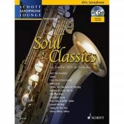 Schott Music Soul Classics - Altsaxophon Juchem, Buch/CD