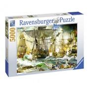 Puzzle Batalie corabii, 5000 piese