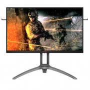 AOC AG273QZ 27'' WLED Gaming Monitor, 240Hz, 0.5 ms, FreeSync, TN Panel, 2560x1440, 400cd/m2, 1000:1, 4xUSB 3.2, 2xHDMI, 2xDisplayport, Speakers, Height adjustable, Pivot,