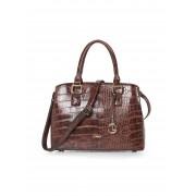 L. Credi Dames Tas van verstelbare schouderriem Van L. Credi bruin
