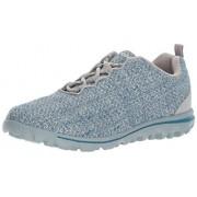 Propét Propet Zapatillas de Senderismo para Mujer, Mezclilla/Gris (Denim/Grey), 6.5 M US