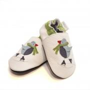 Pantofi cu talpa moale Liliputi Cool Penguin