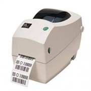 Zebra TLP2824 Plus - thermotransfer- en thermodirectprinter labelprinter - serieel (RS232) - incl. voeding