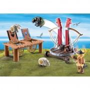 Dragons Gobber Si Lansatorul De Oi Playmobil