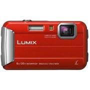 "Aparat Foto Digital Panasonic DMC-FT30EP-R, 16.1 MP, 1/2.3"" CCD, Filmare HD, Zoom Optic 4x + Suport Prindere Ghidon Panasonic RP-CMC10 (Rosu)"
