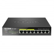 D-Link DGS-1008P Switch 8 Portas