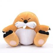 "Super Mario Bros / Brother Monty Mole Marmot Groundhog 6"" Plush Plushies Anime Stuffed Animals Doll Toy"