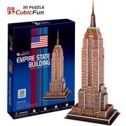 Puzzle CubicFun Empire State Building 3D cu 39 piese
