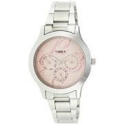 Timex E-Class Analog Pink Dial Womens Watch - TI000Q80100