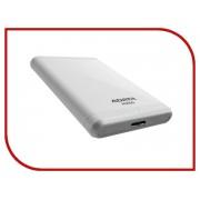 Жесткий диск A-Data Classic HV100 1Tb USB 3.0 White AHV100-1TU3-CWH