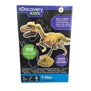 Discovery Kids Dinosaur Excavation Kit ~ Dig Like a Real Paleontologist (T-Rex)