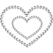 Bijoux Indiscrets Copricapezzoli Bijoux Indiscrets Mimi Heart Argento
