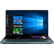 Laptop ultraportabil Asus ZenBook Pro Duo UX581GV-H2004R cu procesor Intel Core i7-9750H pana la 4.5 GHz, 15.6 , 4K, 16GB, 512GB SSD M.2, NVIDIA GeForce RTX 2060 6GB, Windows 10 Pro, Celestial Blue