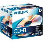 PHI CR7D5NJ10/00 - Philips CD-R 700, 52x Speed, Jewelcase 10