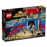 Lego super heroes marvel thor contro hulk: duello nell'arena