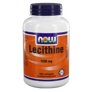 Lecithine 1200 mg (100 softgels) - NOW Foods