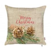 MIKE&Co Povlak na polštář Christmas Pinecone 43x43 cm