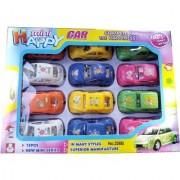 Happy Mini Cars 12 pcs