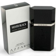 Azzaro Silver Black Eau De Toilette Spray 1.7 oz / 50.28 mL Men's Fragrance 421297
