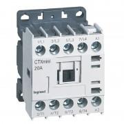 LEGRAND Mini-contacteur CTX³ 4 pôles 20A sans contact auxiliaire - tension de commande 415V~