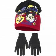 Disney Winterset Mickey Mouse rood voor jongens