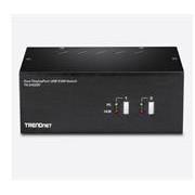 TrendNet 2-Port Dual Monitor DisplayPort KVM