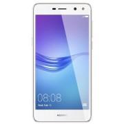 "Telefon Mobil Huawei Y6 (2017), Procesor Quad-Core 1.4GHz, IPS LCD 5.0"", 2GB RAM, 16GB Flash, 13MP, Wi-Fi, 4G, Dual Sim, Android (Alb) + Cartela SIM Orange PrePay, 6 euro credit, 4 GB internet 4G, 2,000 minute nationale si internationale fix sau SMS natio"