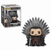 Funko POP! Deluxe GOT S10 - Jon Snow Sitting on Iron Throne